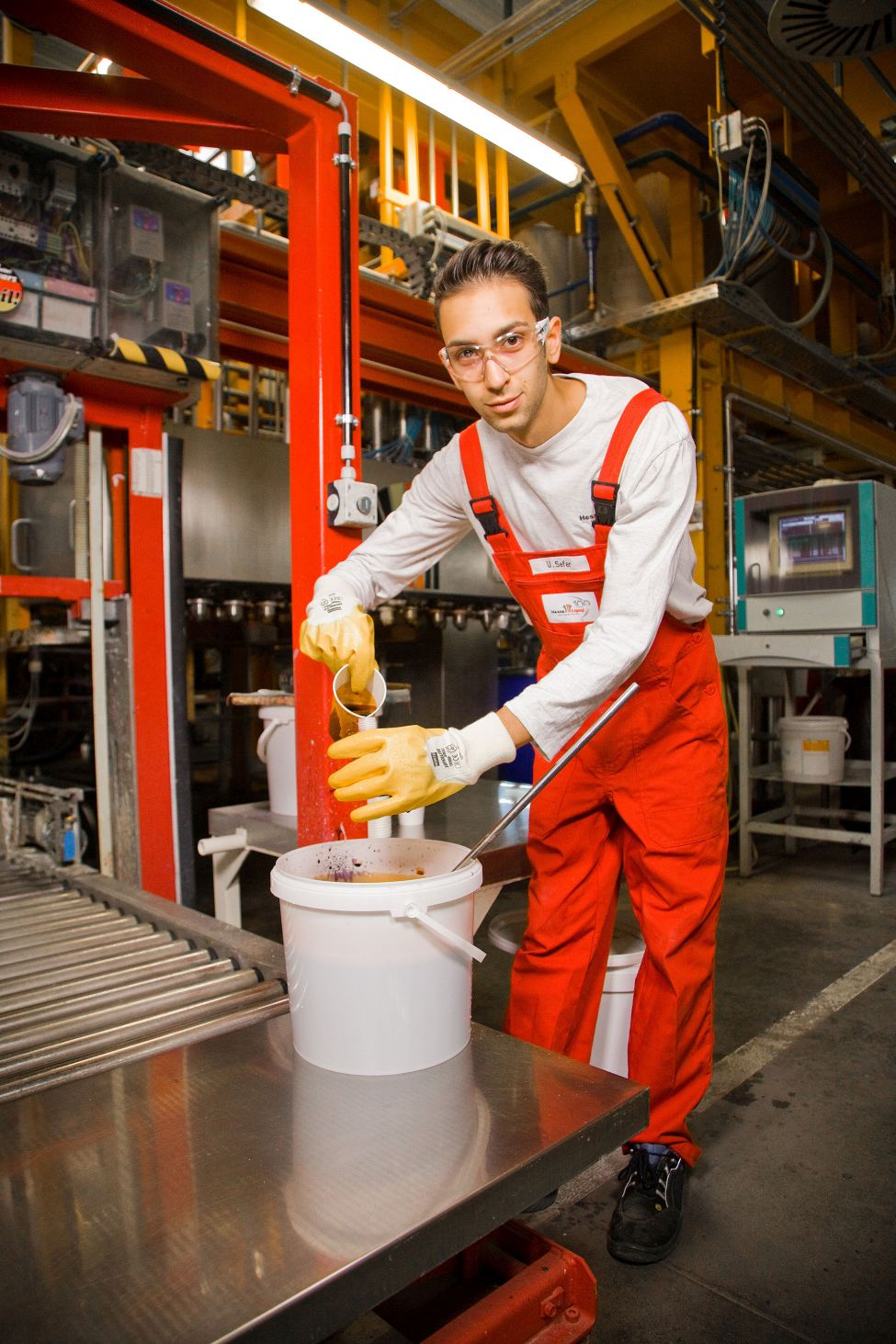 ausbildung produktionsfachkraft chemie