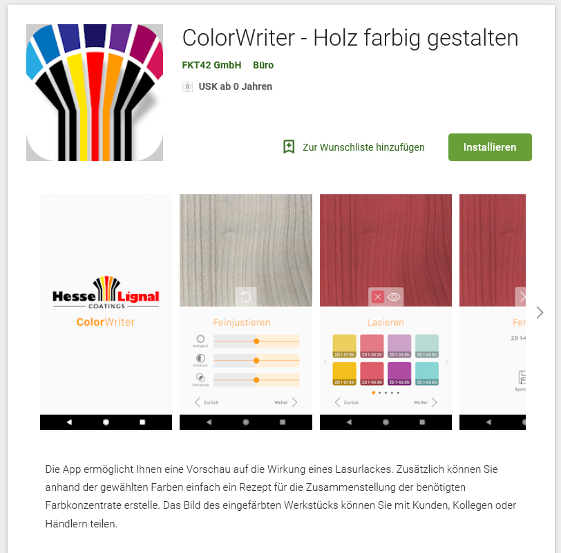 Hesse - COLOR WRITER